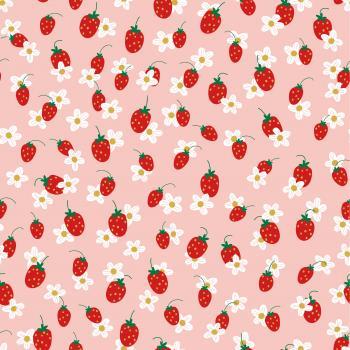 Erdbeeren rosa